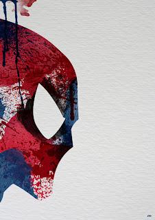 arte+salpicadura+spiderman