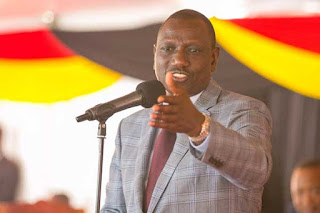 DP president William Ruto in Kitengela. PHOTO | PSCU