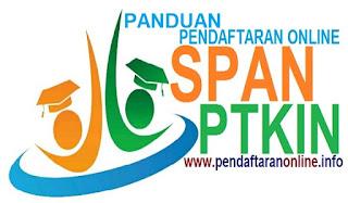 Panduan Pendaftaran Online SPAN-PTKIN 2019-2020