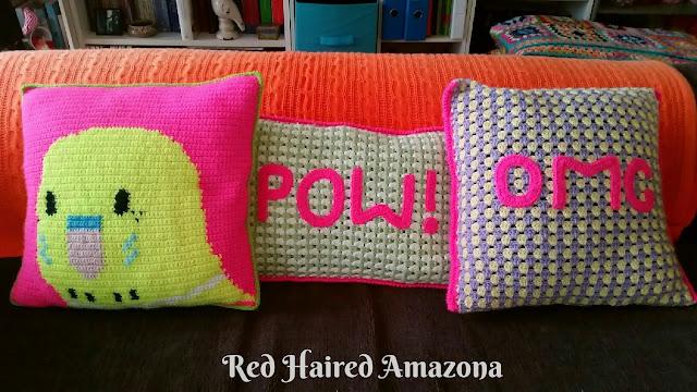 #crochetaddict #gingham #neon #budgie