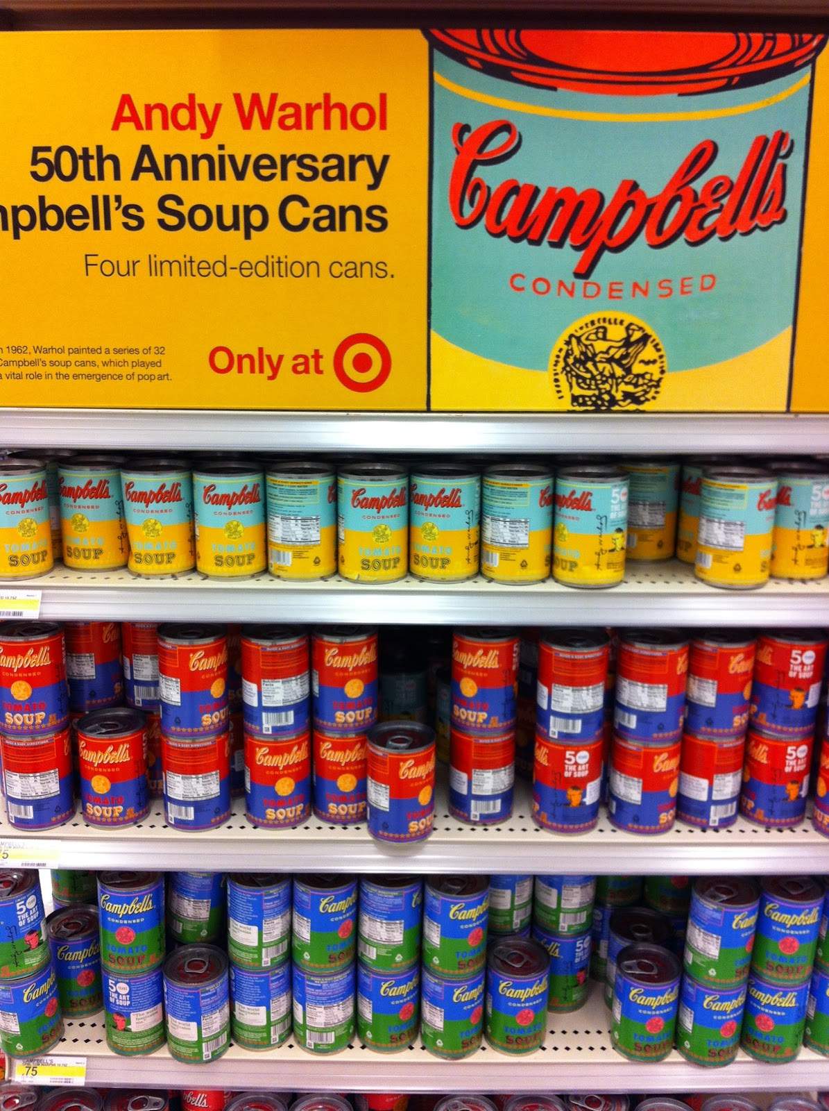 soupe campbell andy warhol