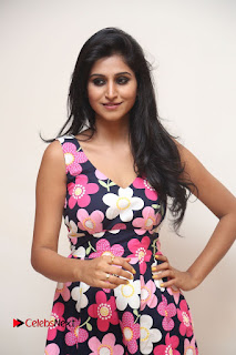 Model Shamili Latest Pictures in Floral Short Dress  0092