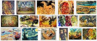 Lukisan Karya Affandi Lengkap Terkenal Beserta Keterangan Penjelasannya