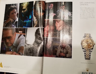 Rolex ad in Vanity Fair December, 2017