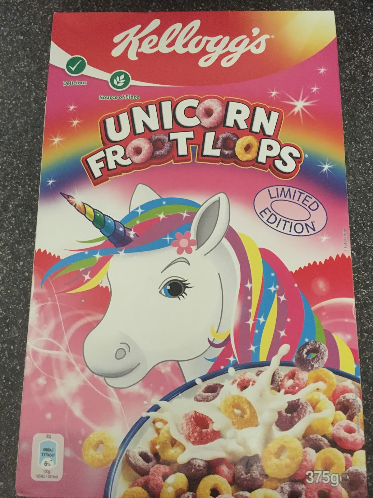 a review a day today s review unicorn froot loops