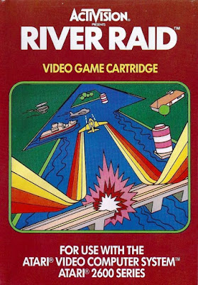 Review - River Raid - Atari 2600