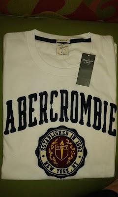 Camiseta da Abercrombie