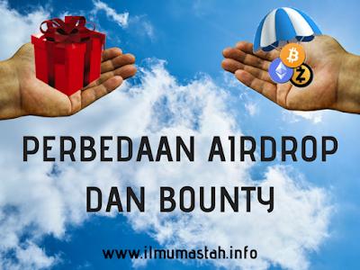 Perbedaan Airdrop dan Bounty