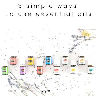 3 simple ways to use essential oils.