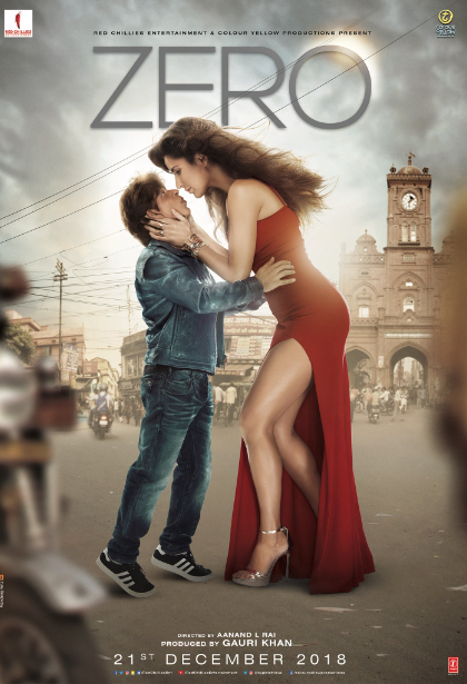 Zero Movie First Look, Zero Movie Poster