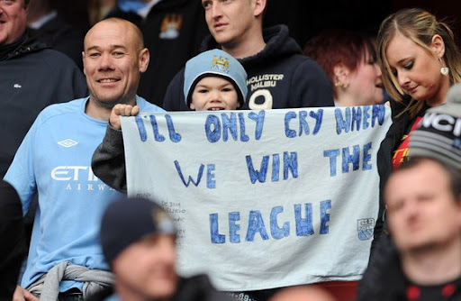 Man City fan set for another 12 months of dry eyes