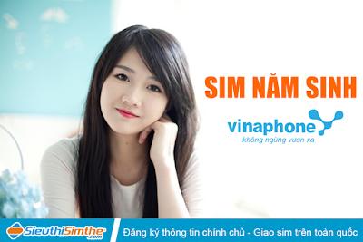Sim năm sinh Vinaphone