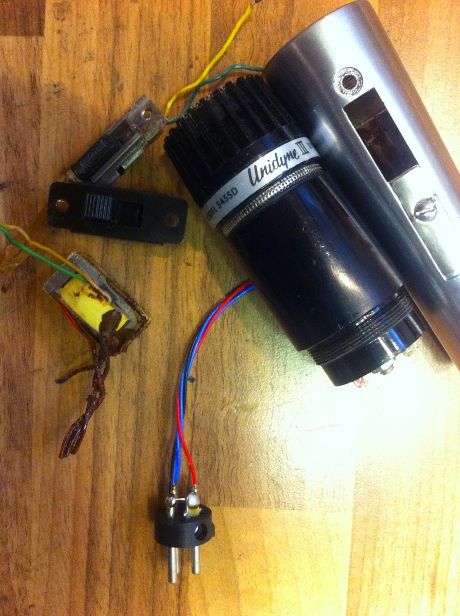 xaudia microphone blog shure unidyne 545 transformer bypass  [ 896 x 1200 Pixel ]