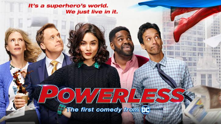Powerless - Promos, Cast Promotional Photos & Key Art *Updated 19th January 2017*