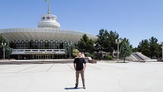 In Ashgabat Turkmenistan