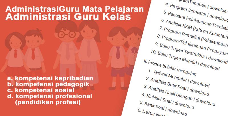 Administrasi Guru Mata Pelajaran