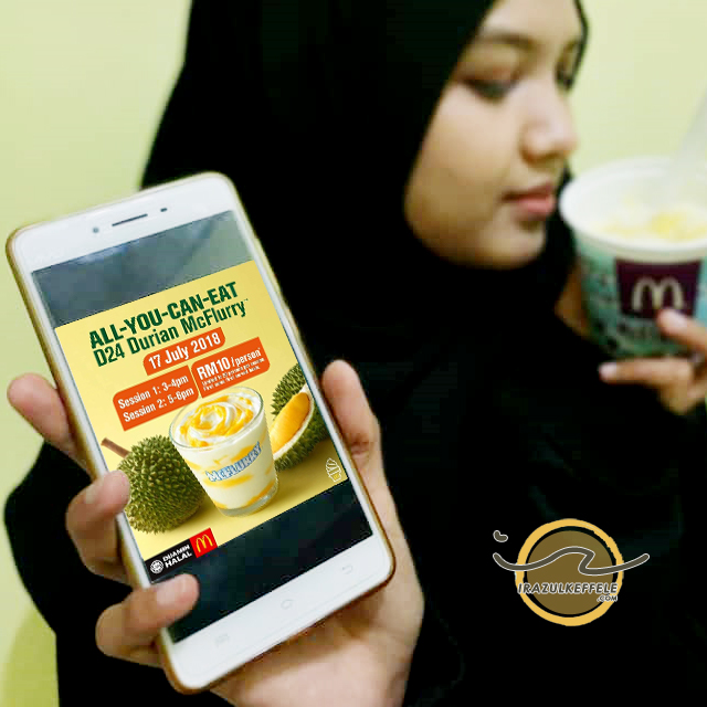D24 DURIAN MCFLURRY REVIEW | ALL-YOU-CAN-EAT !