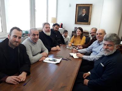 Σύσκεψη για εγκρίσεις μελετών Βυζαντινών Ναών και μνημείων του Δήμου Βιάννου