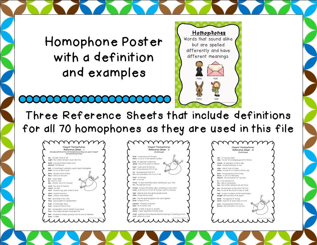 Fit To Be Fourth Hoppin Homophones