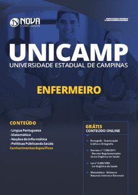 Apostila Concurso UNICAMP 2020 Enfermeiro Grátis Cursos Online