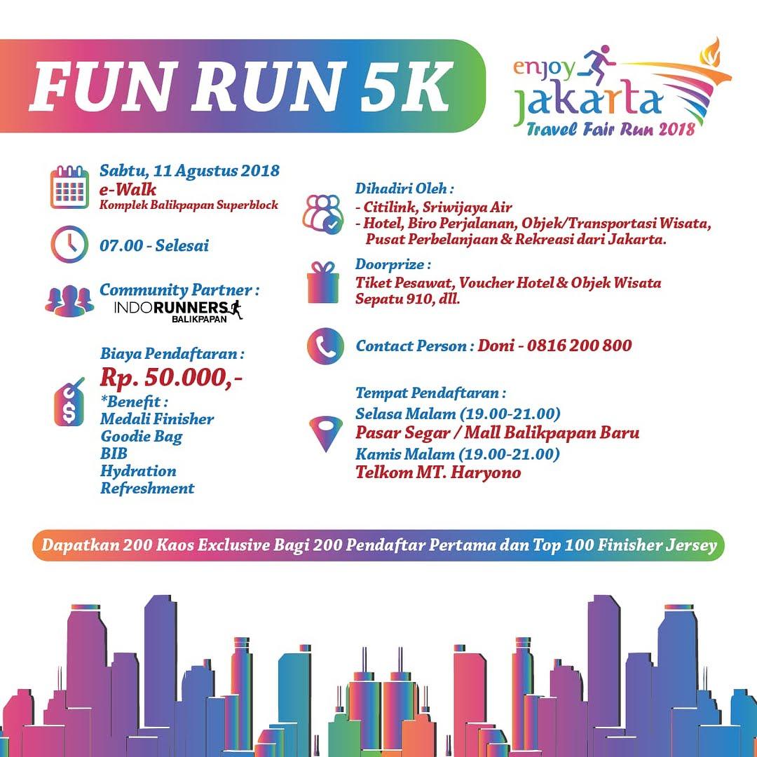 Jakarta Travel Fair Run • 2018