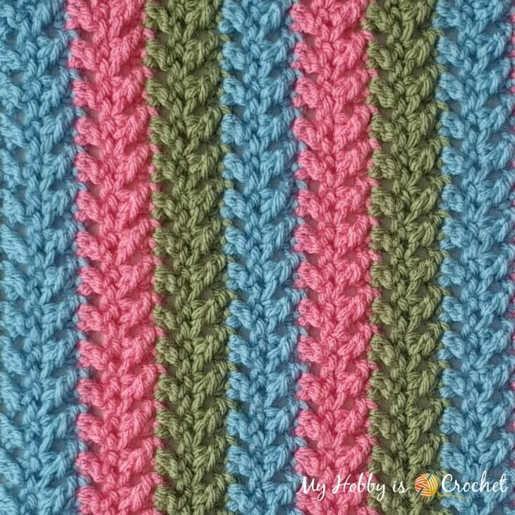 Herringbone Stitch Pattern
