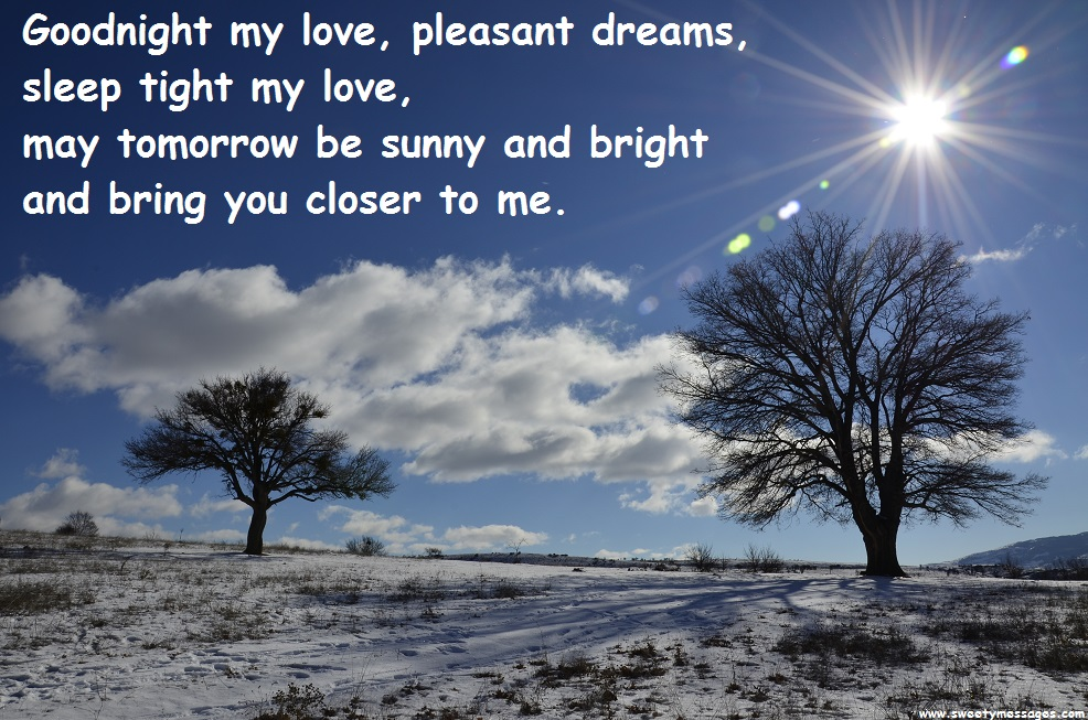 Good Night Love Messages For Your Boyfriend