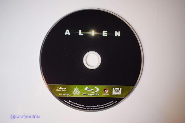 Análisis y Reportaje Fotográfico Steelbook 40 Aniversario 'Alien, el Octavo Pasajero'.