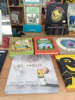 El Hilo, Gracia Iglesias, Kalandraka, Feria del Libro, Sevilla, caseta, cuento, LIJ, disparate, hilando