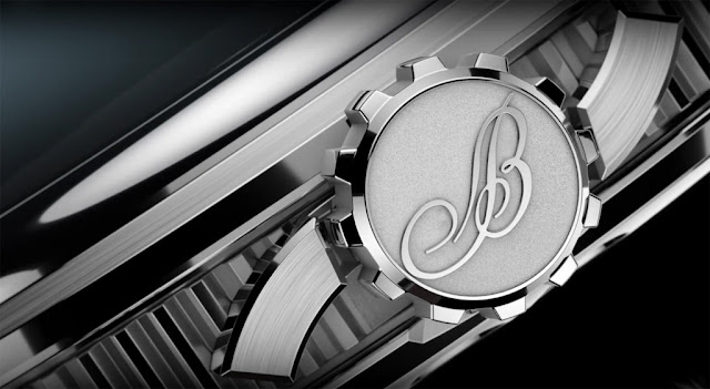 Breguet Marine 5517 detail of the crown