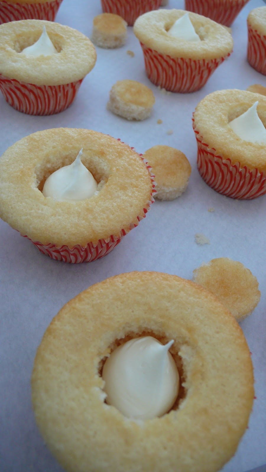Dough and Batter: raspberry zinger cupcakes & happy