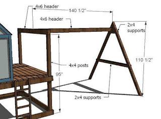 Diseños de juegos de madera para niños