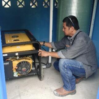 Pemasangan Filter Air FRP Tank 2162 Di Jambi