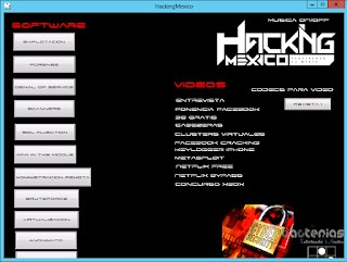 HackingMexico Software
