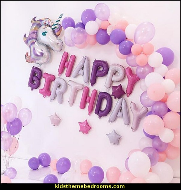 purple unicorn balloon  unicorn party supplies - rainbow unicorn party decorations - unicorn birthday party - Unicorn Themed Party -  Unicorn Balloons  -  unicorrn cupcakes - rainbow decorations - Unicorn  Garlands - sequin tablecloth - tutu table skirt -