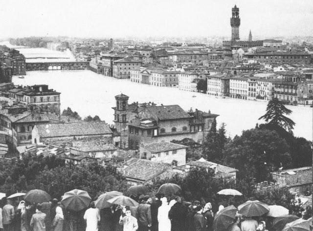 Florence submerged