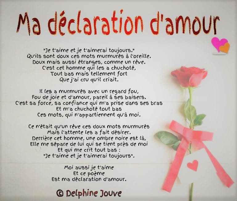 Anthologie des plus belles d clarations d 39 amour po sie d 39 amour - T aime te faire belle ...