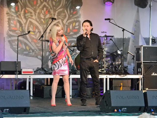 Duet polsko-włoski wystąpił na festynie w Zbąszyniu.