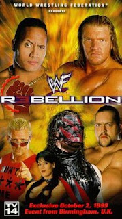 WWE / WWF Rebellion 1999 - Event poster