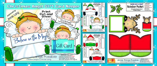 Get Gift Card Keeper Character gift card holders and more at Annie Things Possible