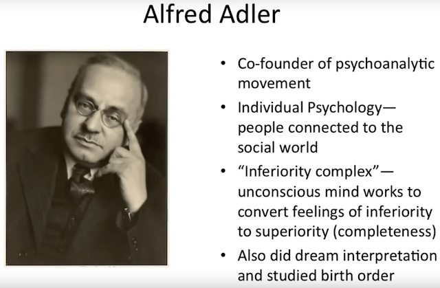 alfred adler birth order Alfred adler believed that the birth order of a group of siblings would help to determine individual personalities although family situations are unique and individualize, adler believed that generic principles to family situations could dramatically impact how a child develops over time.