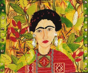 http://www.artneedlepoint.com/portraits/frida-y-pericos-by-janet-ghio
