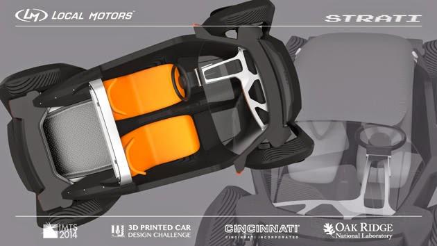 Mobil Pertama Dibuat Dengan Mesin Cetak 3D