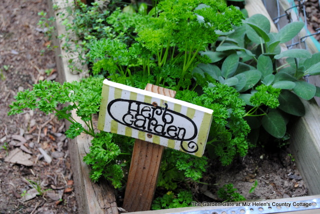 Spring Garden 2018 at Miz Helen's Country Cottage