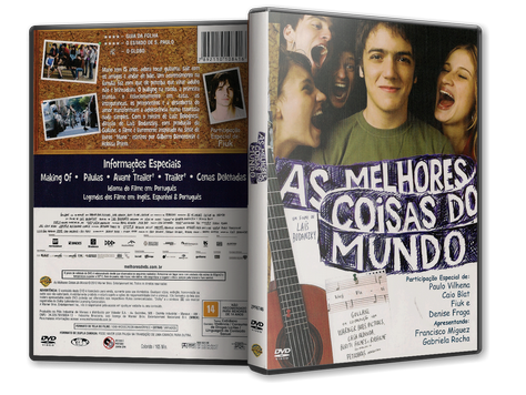Capa DVD As Melhores Coisas do Mundo (Oficial)