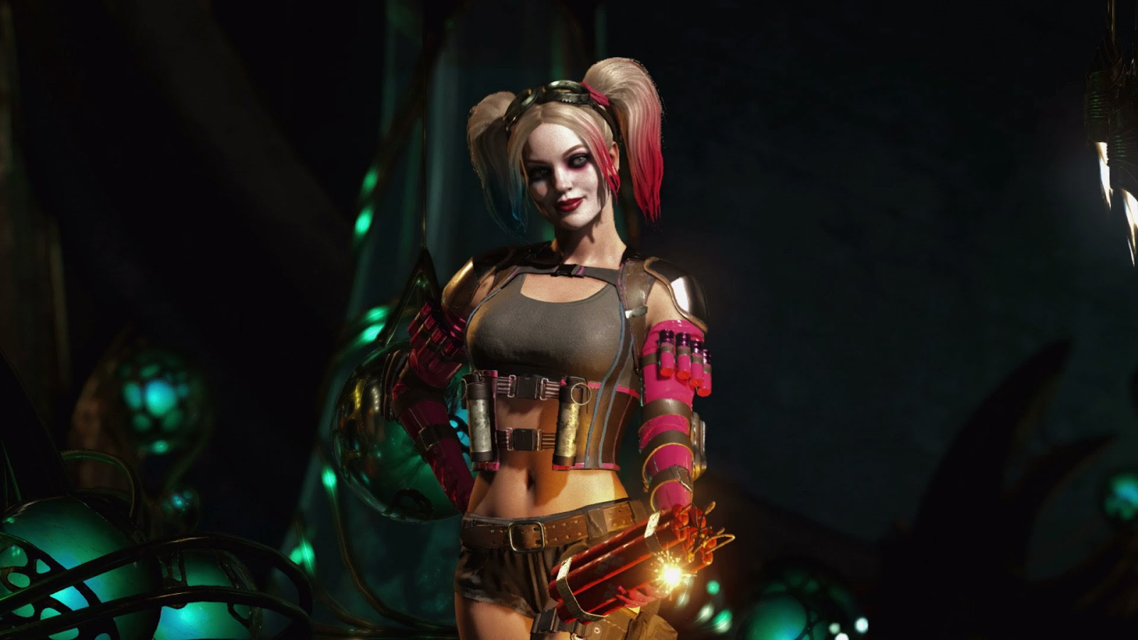 Download injustice 2 hd wallpapers 1920x1080 read games for Harley quinn wallpaper