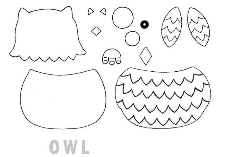 Owl Key Chain Tutorial ~ DIY Tutorial Ideas!