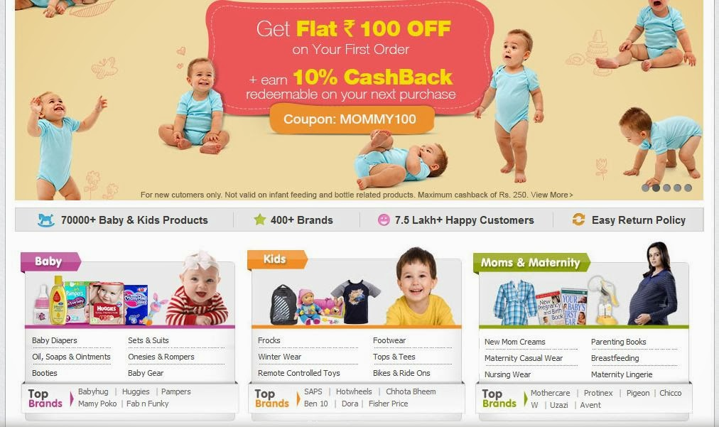 Happy Shopping at Firstcry.com - Happiest Ladies