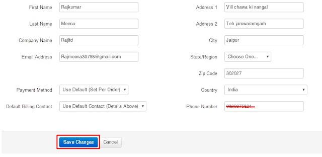 free hosting form