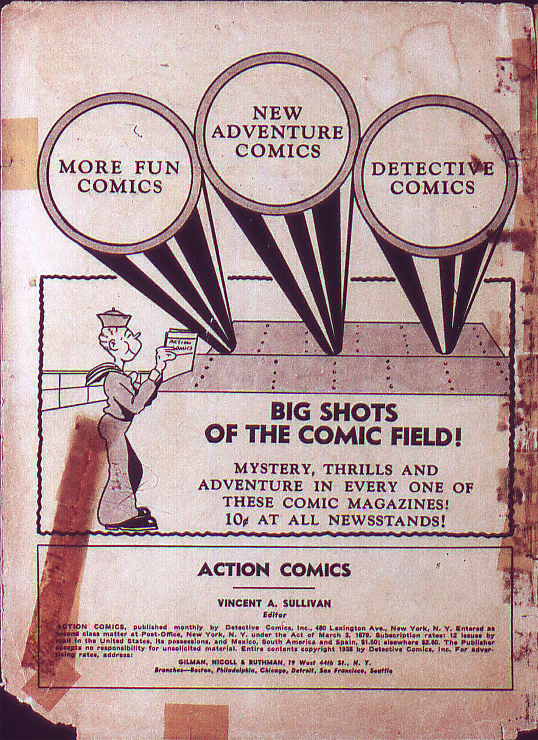 Read online Action Comics (1938) comic -  Issue #3 - 2